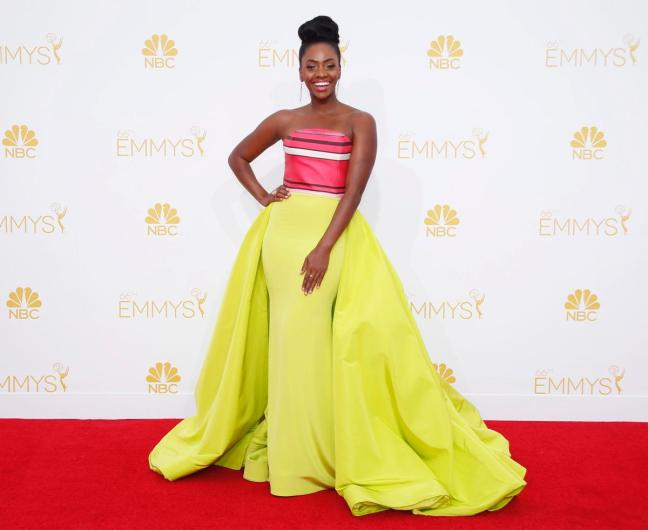 teyonah-parris in christian siriano